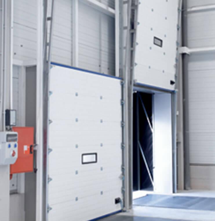 Puertas seccionales industriales Norpa puertas y automatismos
