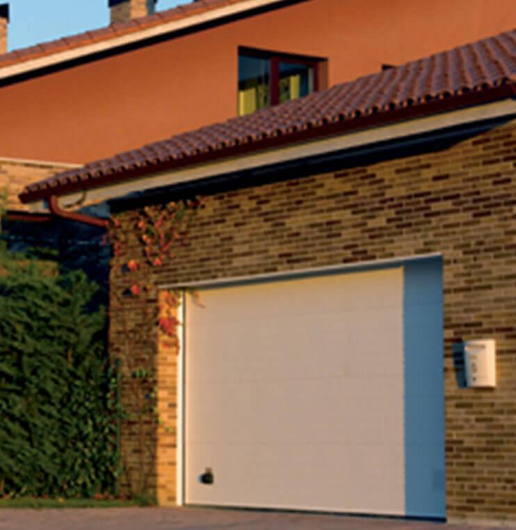 Puertas seccionales residenciales Norpa puertas y automatismos