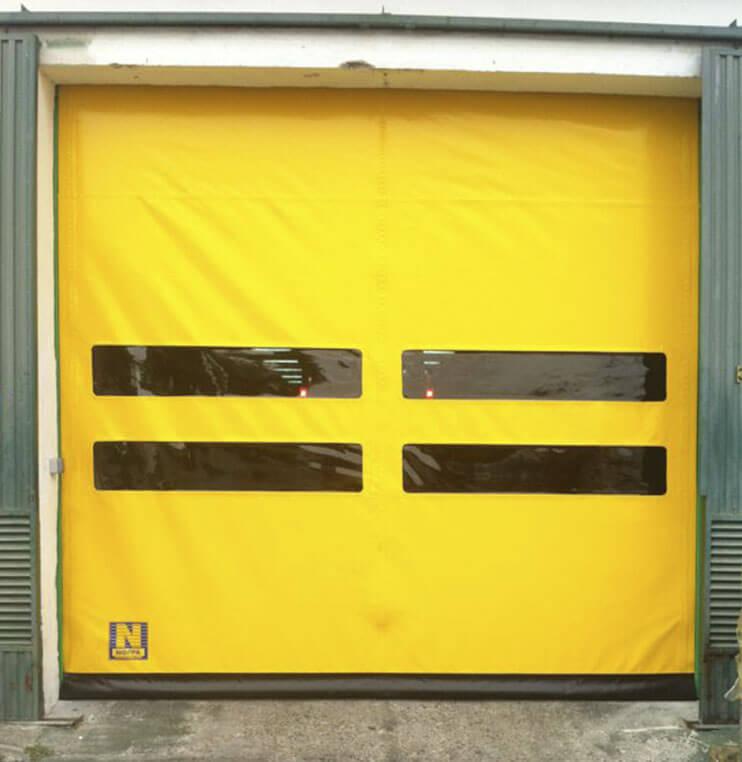 Puertas super rápidas enrollables Norpa puertas y automatismos
