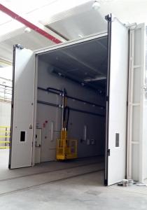 Instalación de puertas interiores para el Taller Central de Reparaciones de Renfe