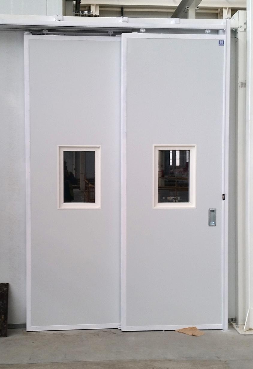 Instalaci n puertas interiores para taller de renfe en - Instalacion puertas correderas ...