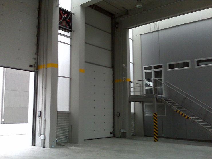 Puertas automaticas Parque de Bomberos de Cadiz - Norpa Puertas y Automatismos