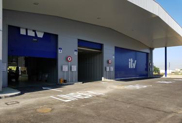 Puertas seccionales en Sevilla - ITV Sanlúcar la Mayor - Norpa
